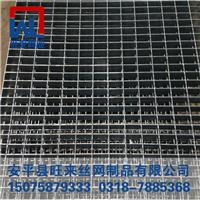 不锈钢水篦子 平台格栅板 重型钢格栅