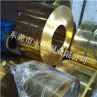 永宝H65黄铜箔-H62压延铜箔-光亮黄铜箔