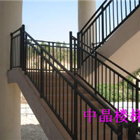 供应中晶牌热镀锌楼梯扶手,专业生产安装