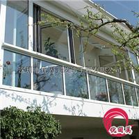 深圳家装门窗封阳台窗铝合金门窗包安装