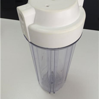 台湾沛毅TankPAC进口净水机配件AS透明滤瓶