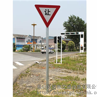 单立柱交通标志杆厂家