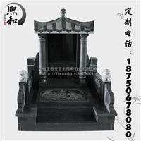 福建厂家直销定制墓碑山西黑石雕墓碑简单