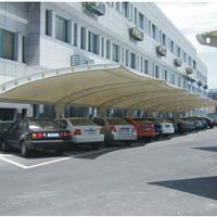 供应膜结构停车棚