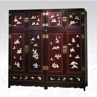 红木家具古典家具顶箱柜