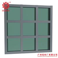 明框玻璃幕墙 铝合金门窗型材 建筑铝型材