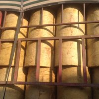 供应防火耐高温岩棉板管节能保温材料
