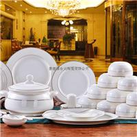 欧式银色浪漫56头餐具生产厂家批发