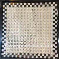 供应佛山现代蓝锆宝石马赛克瓷砖卫浴设计