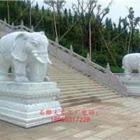 招财大象 石大象 石材大象 专业大象雕刻厂