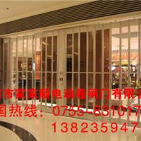 深圳东门水晶折叠门、水晶卷闸门、