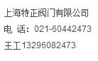 上海特正阀门有限公司