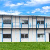 供应文成彩钢板房搭建 文成福鼎建筑工地宿舍 工地食堂搭建材料