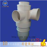 供应福建正亚同层立体四通PVC单立管排水管