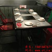 南山火锅桌椅|福田烤肉店桌椅|深圳餐厅桌椅