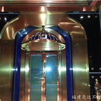 厂家直销酒店不锈钢玫瑰金门 大堂不锈钢门