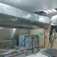 供应深圳厨房油烟排放 新风系统工程