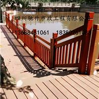 供应CS-501四川驰升桥梁道路仿木护栏 栏杆