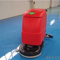 工厂车间环氧地坪地面清洁用合美洗地机