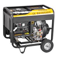 柴油5KW单相电启动发电机报价