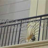 东莞锌合金阳台护栏的颜色天蓝色护栏厂家