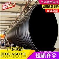 1800大口径HDPE钢带增强聚乙烯螺旋波纹管