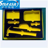 供应海绵包装盒EVA植绒包装内衬来图可定