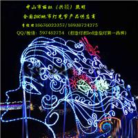 供应灯会灯海灯光节产品,LED图案灯女孩头像