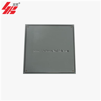 上海宜宽厂家批发OA全钢带线槽网络活动地板