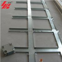 上海宜宽厂家批发OA全钢带线槽网络地板