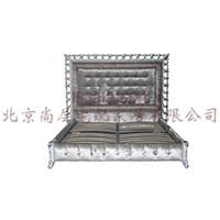 供应高级定制实木家具/卧室双人床