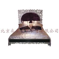 供应最新款实木雕刻床欧式