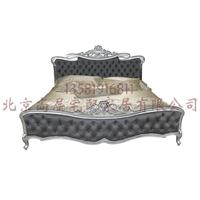 美式卧室家具/实木双人床美式卧室家具