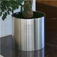 定制不锈钢镜面花盆 各类不锈钢花盆花器