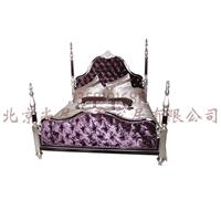 供应欧式别墅样板房实木床/最新款欧式婚床