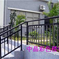供应海安环保喷塑锌钢楼梯扶手