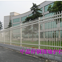 供应吴江热镀锌彩色艺术围栏