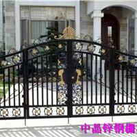 专业生产扬州喷塑热镀锌栅栏门