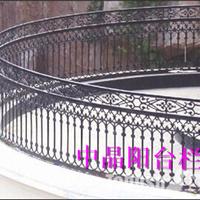 供应东台浸锌钢喷塑阳台栏杆价格