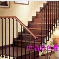 供应兴化锌钢静电喷涂楼梯扶手