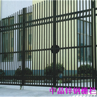 常州锌钢喷塑组装式围墙栅栏价格