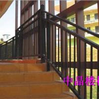 工厂直销湖州锌钢浸塑楼梯扶手