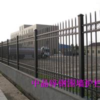 供应建湖热镀锌喷塑围墙护栏价格