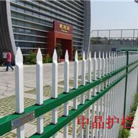 供应南京镀锌钢浸塑围墙护栏价格