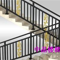 供应海安组装式锌钢浸塑楼梯扶手