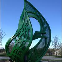 异形钢结构雕塑价格多少怎么卖