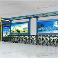 自行车棚,自行车棚厂家,郑州,锐珑标识
