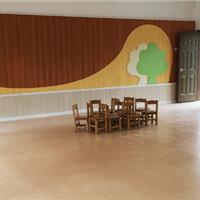 承接幼儿园、学校、医院PVC地板和硅PU铺装