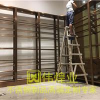 广州番禺KTV酒架安装案例|不锈钢红酒架酒窖