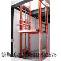 供应固定导轨液压电动升降货梯载重10吨